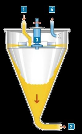 Vacuum deaerator NORMIT