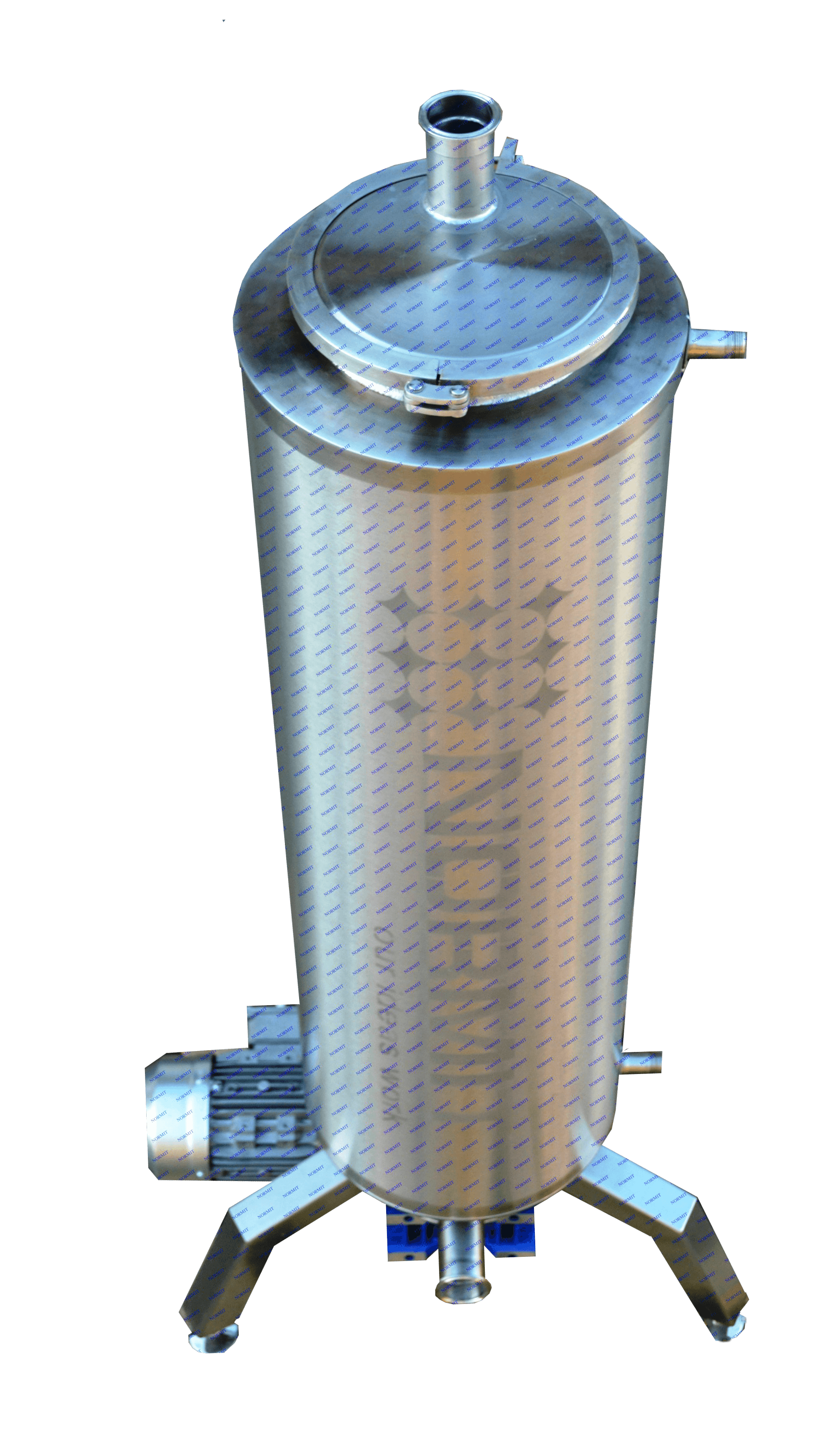 Теплообменники скребковые NORMIT, Scraped Surface Heat Exchanger  NORMIT Delta T