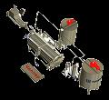 Оборудование для переработки меда
